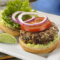 Black Bean Burgers with Avocado-Lime Mayonnaise